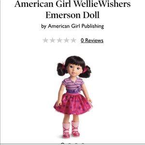American girl Wellie wisher